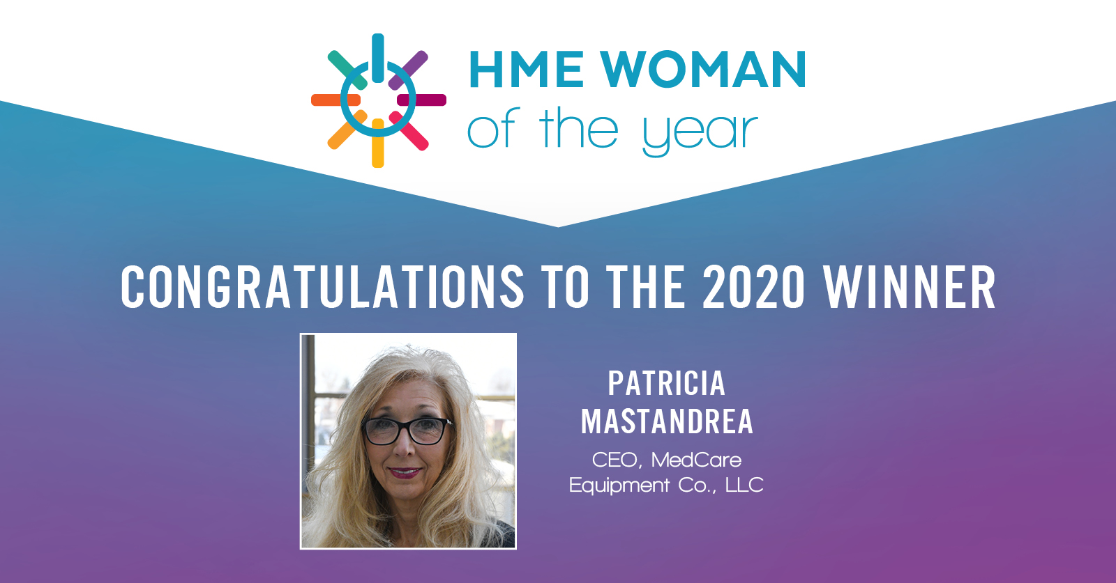 VGM & Associates Announces 2020 HME Woman of the Year: Patty Mastandrea thumbnail